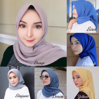 Jual Hijab Jilbab Segi Empat Bella Jilbab Cantik Hijab Cantik Kekinian Kota Bandung Outfit Now Tokopedia