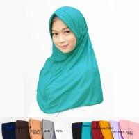 Hijab Instan Safira Pad/Ped Serut Khimar Jilbab Instan Jilbab Sekolah