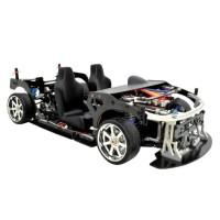 Rc Car Drift Frame Fijon FJ9 1/10 Front Engine Design