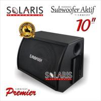 Subwoofer Aktif 10 inch BASSBOX Embassy Trojan EMS-10 PREMIER