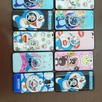 CASE/KESING/SARUNG HP OPPO A3S/A5 MOTIV CARTOON + POPSOKET