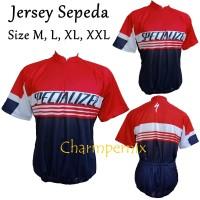 Koleksi Baju Kaos Jersey Sepeda XC tangan pendek
