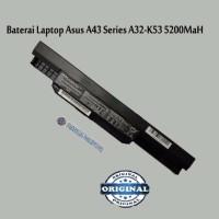 Produk Baru Bulan Ini BATERAI LAPTOP ASUS A43 Series 5200mAh A32 K53