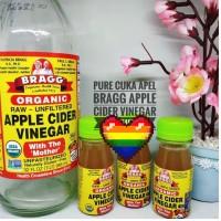 Harga pure cuka apel bragg 60ml bragg apple cider vinegar pure   antitipu.com