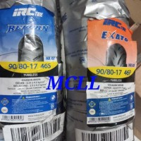 Ban Luar Irc 90/80-17 (Tubeless) Standar Ban Depan Motor Vixion New