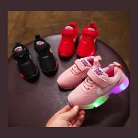 Sepatu Lampu Led Anak -Anak Unisex NIKE Air England Ribbon (ZH-SS011)