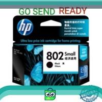 HP 802 SMALL ORIGINAL Black Ink Catridge Hitam kecil printer 1000