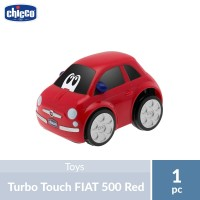 Chicco Turbo Touch FIAT 500 Red