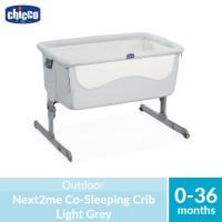 Chicco Next2me Co-Sleeping Crib Light Grey