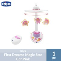 Chicco First Dreams Magic Star Cot Pink