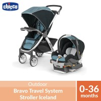 Chicco Bravo Travel System Stroller Iceland
