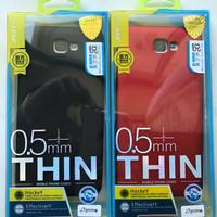 ORI Soft Jelly Metal J-Case Thin TPU 0.5mm for Samsung Galaxy J7 Prime