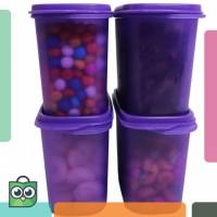 Titian Food Storage Isi 4 Purple