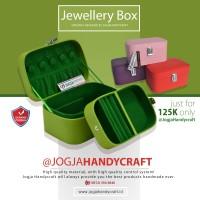 TERMURAH - Jewelry Box / Kotak Tempat Perhiasan, Emas, Kalung, Cincin
