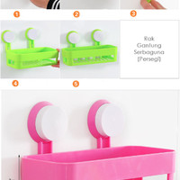 Produk As Seen On TV Rak Tempat Sabun Kamar Mandi / Bathroom Shelves