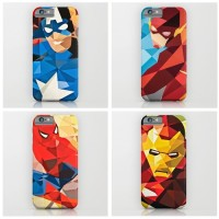 Custom Case Casing Ironman Flash Hp Handphone Iphone Samsung Sony A138
