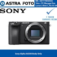 Harga hot list sony alpha a6500 body only kamera mirrorless garansi | Pembandingharga.com