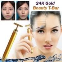 24k gold beauty bar v shape melangsingkan wajah - BFE027