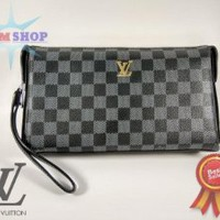 HANDBAG TAS TANGAN IMPORT LV DAMIER BLACK Limited