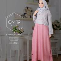Gamis muslimah hai hai GM 19 Pink