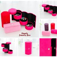 Simply Jewelry Box (Kotak 4 tingkat untuk tempat perhiasan)