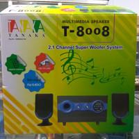 speaker aktif tanaka T8008 speaker tanaka T 8008 speaker bluetooth mp3