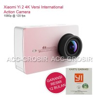 Xiaomi Yi 4K II International Version Garansi 1Th