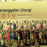 KALENDER LITURGI 2019 penanggalan katolik tahun C/1