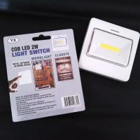 Lampu tempel emergency mitsuyama / lampu tenda switch light led 10