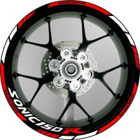 stiker velg motor wheel sticker Honda Sonic 150R ring 17