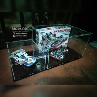 Box Display Produk Diecast Figure Akrilik Acrylic Custom Minimalis