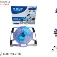 Kipas Notbook- Laptop Pendingin Suhu M-Tech MT02 Cooling Pad Eksternal