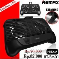 REMAX Smartphone Cooling Gamepad RT-EM01 Standing Pad Handphone HP ORI