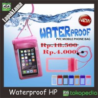Case Water Proof Universal Bag For Smartphone Anti Air Jas Hujan HP