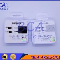 CASAN CHARGER SAMSUNG S8 - A5 - A7 - C9  BLACK WHITE TYPE C - ORI 99%