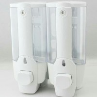[DOUBLE] Soap dispenser tempat sabun cair double