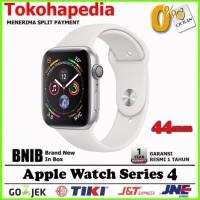 Apple Watch / iWatch Series 4 44mm Silver White Sport Band MU6A2