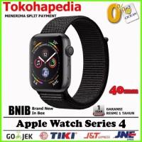 Apple Watch / iWatch Series 4 40mm Black Grey Sport Band Loop MU672