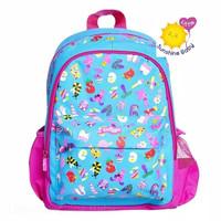 Harga smiggle junior backpack alphabeth blue ori tas ransel anak | Pembandingharga.com