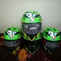 AGV Frog Full Face Helmet Helm Replika