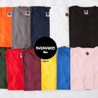 Kaos Polos Oblong Import Jepang Namako Tee Premium