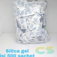 Silica gel natural isi 500 sachet murah