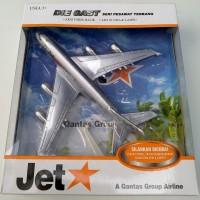 diecast jetstar die cast jet star pesawat terbang miniatur replika