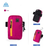 Aonijie Arm Bag E845 Tas Lengan Lari Gym Sepeda - ROSE RED