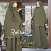 Rabbani 2 Gamis Syari by Intanaka busana muslim wanita