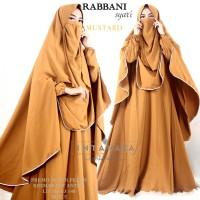 Rabbani 3 Gamis Syari by Intanaka busana muslim wanita