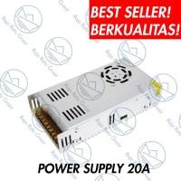 Power Supply 20A / 12V Adaptor CCTV CENTRAL + KIPAS