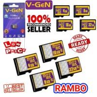 MMC V-GEN MICRO SD 16GB / MEMORY HP EXTERNAL / VGEN / V GEN 16 GB