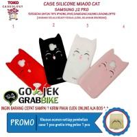 Harga Hemat Termurah Samsung J2 Pro Case MiaoO Cat SoftCase Kucing Hp