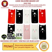 Paling Bagus Termurah Vivo Y83 Case MiaOo Cat Casing Kucing Cantik Hp